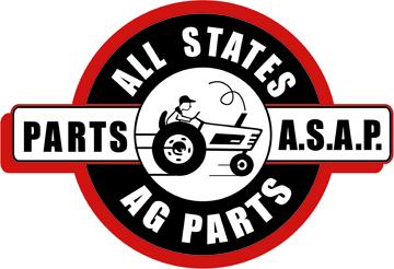 Seat Assembly, Grammer, Mechanical Suspension, Vinyl, Black, New, Allis Chalmers, 72272450