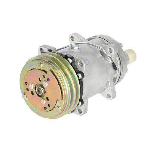 Air Conditioning Compressor - w/Clutch, Sanden Style, New, 450805, Massey Ferguson, 3550921M91