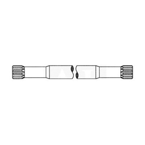 Axle Drive Shaft - Left Hand fits International 1460 184189C1 fits Case IH 1644 1666 1680 1660 1688