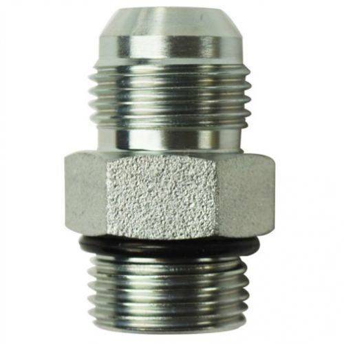 Brennan Straight Adapter 9 Units 3//8 in Male JIC 37/° Flare x 3//8 in Male JIC 37/° Flare Stainless Steel