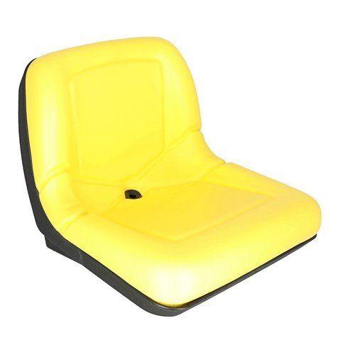 Bucket Seat - Yellow Vinyl, New, John Deere