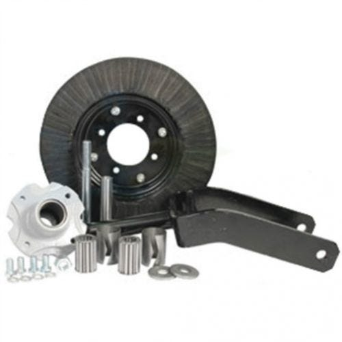Caster Wheel Assembly - 1-1/4