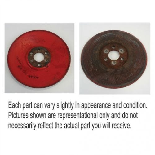 Cleaning Fan Driven Pulley, Used, Case IH, 183288C1, International, 183288C1