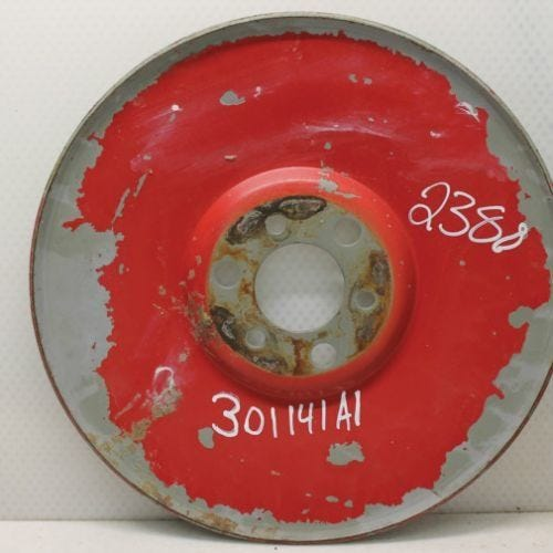 Cleaning Fan Pulley, Used, Case IH, 301141A1, 301141A2