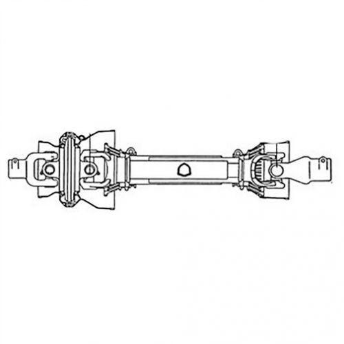 CV PTO Driveline, 80 Degrees, 1000 RPM, New, Bush Hog, 85007BH