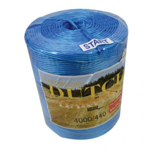 Dutch Harvest Baler Twine- Poly, Blue, 440# x 4000'