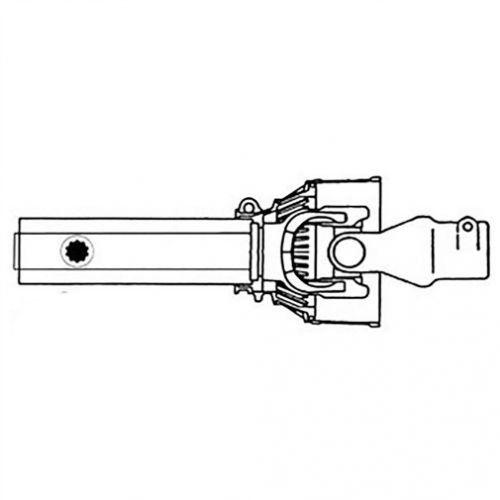 Implement Half CV PTO Driveline - 400 Series, New, Bush Hog, 88036