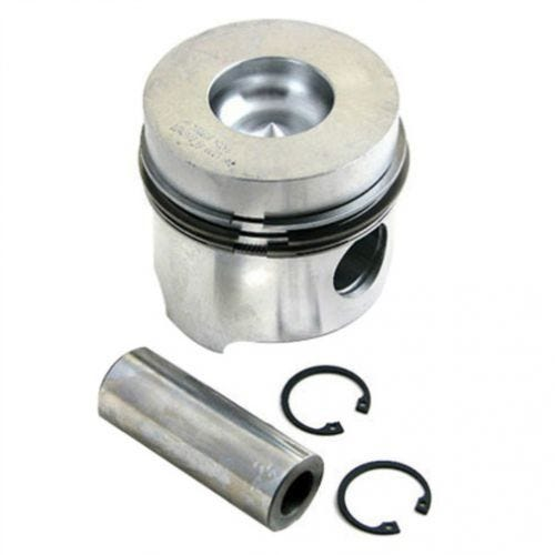 Piston and Rings - 0.60mm Oversize, New, Allis Chalmers, White, FIAT