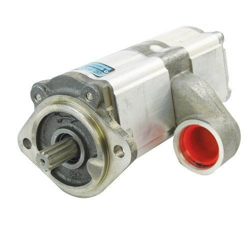 Power Steering Pump - Dynamatic, New, AGCO, 3816909M91, Allis Chalmers, 3816909M91, Massey Ferguson