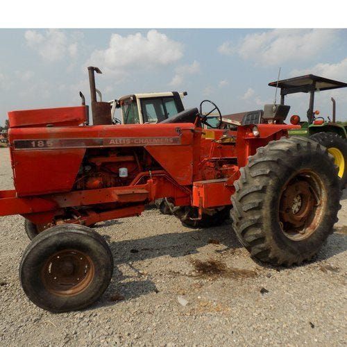 Used Allis Chalmers 185 Tractor Parts