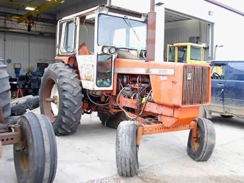 Used Allis Chalmers 200 Tractor Parts