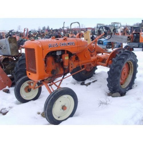 Used Allis Chalmers B Tractor Parts