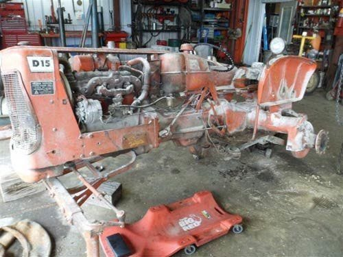 Used Allis Chalmers d15 Tractor Parts