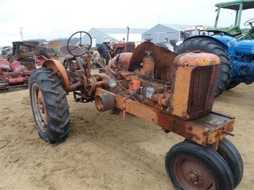 Used Allis Chalmers wc Tractor Parts