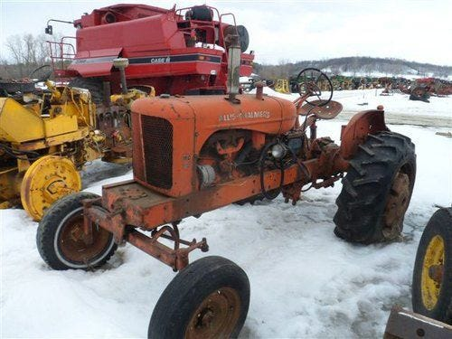 Used Allis Chalmers wd45 Tractor Parts