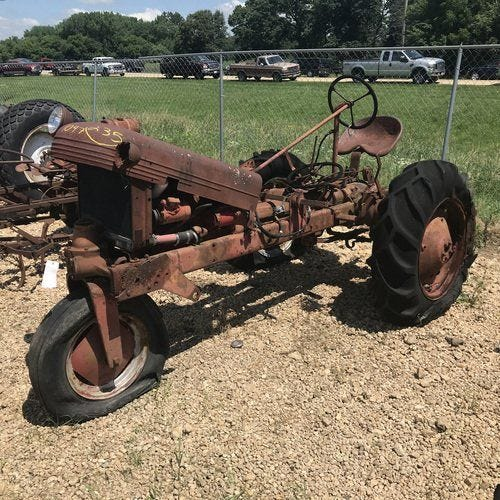 Used Avery A Tractor Parts