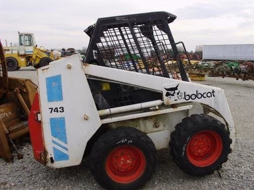 Used Bobcat 743 Skid Steer Loader Parts