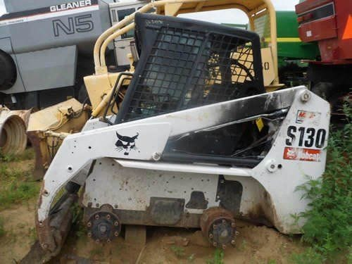 Used Bobcat S130 Skid Steer Loader Parts