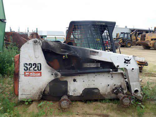 Used Bobcat S220 Skid Steer Loader Parts