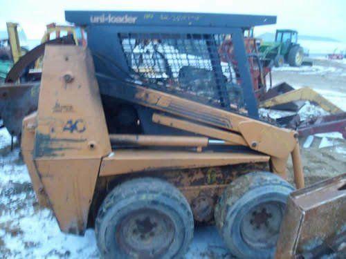 Used Case 1840 Skid Steer Loader Parts