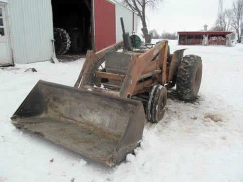 Used Case 380B Tractor Parts