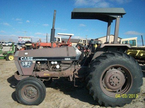 Used Case IH 1394 Tractor Parts