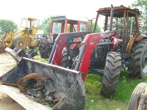 Used 2006 Case IH JX95 Tractor Parts