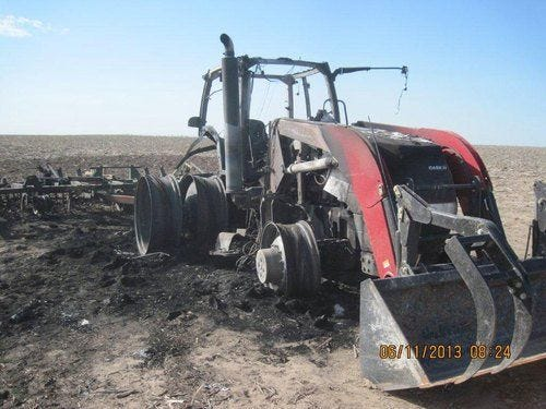 Used 2002 Case IH MX215 Tractor Parts