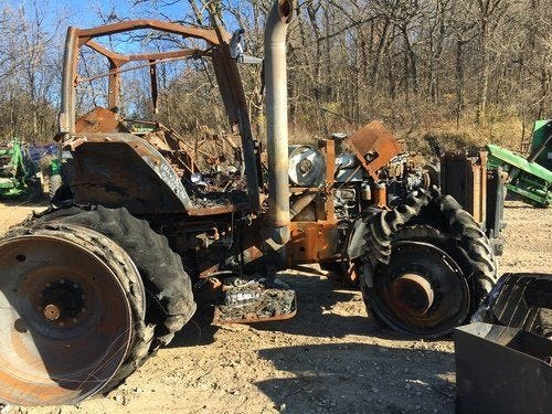 Used Case IH MX255 Tractor Parts