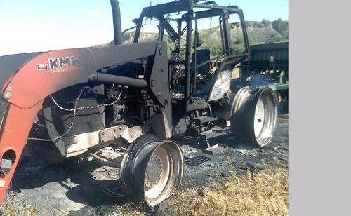 Used 2007 Case IH MXM155 Tractor Parts
