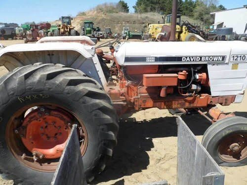 Used David Brown 1210 Tractor Parts