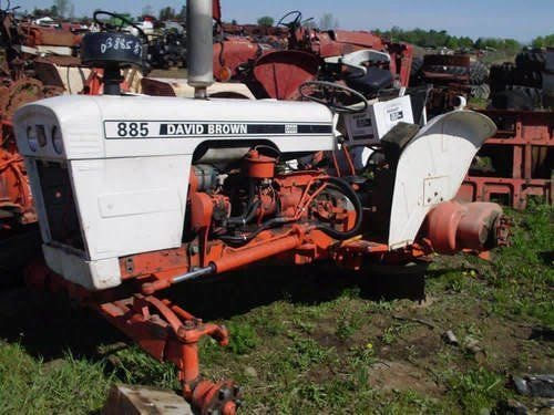 Used 1975 David Brown 885 Tractor Parts
