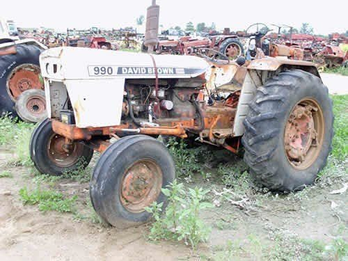 Used David Brown 995 Tractor Parts