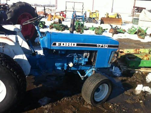 Used Ford 1710 Tractor Parts