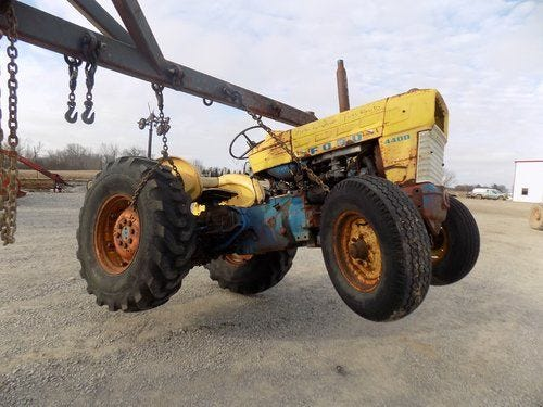 Used Ford 4400 Tractor Parts