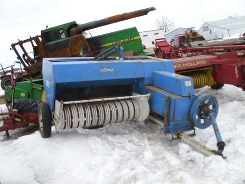 Used Ford 530 Baler Parts