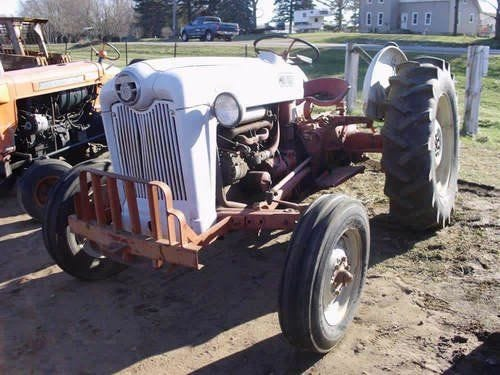 Used Ford 600 Tractor Parts
