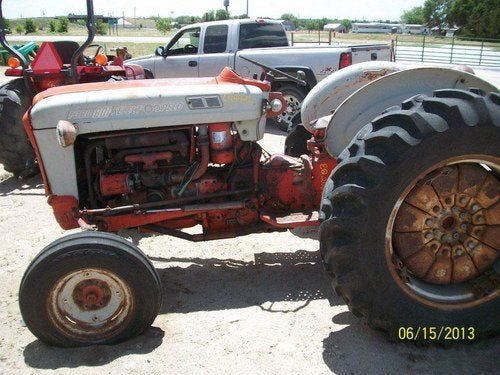 Used Ford 801 Tractor Parts