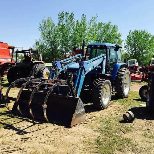 Used Ford 8160 Tractor Parts