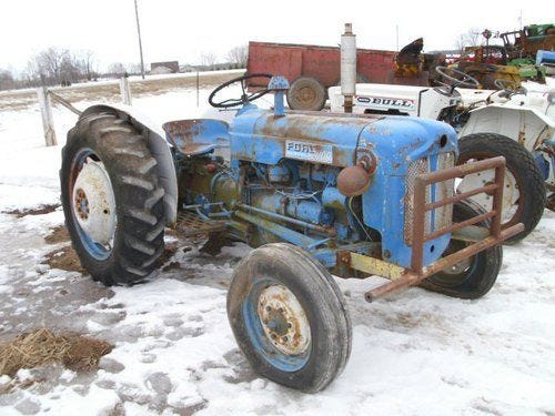 Used Ford Dexta Tractor Parts