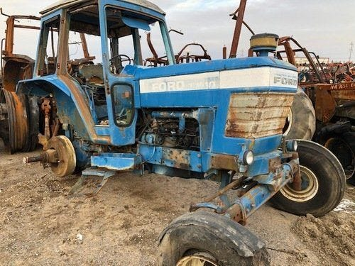 Used Ford TW10 Tractor Parts