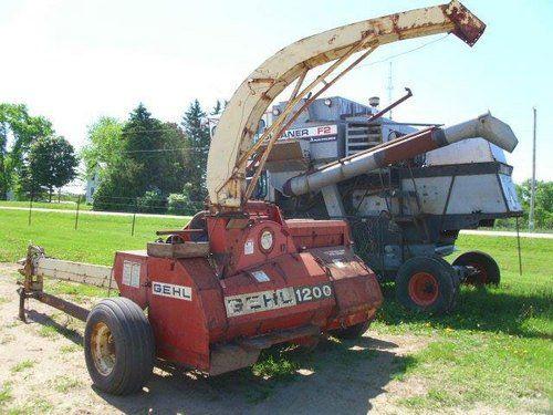 Used Gehl 1200 Harvester Parts