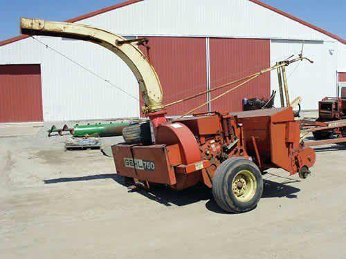 Used Gehl 750 Harvester Parts