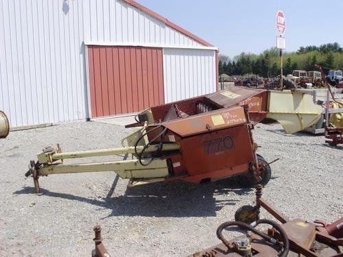Used Gehl 770 Hay Cutting Parts