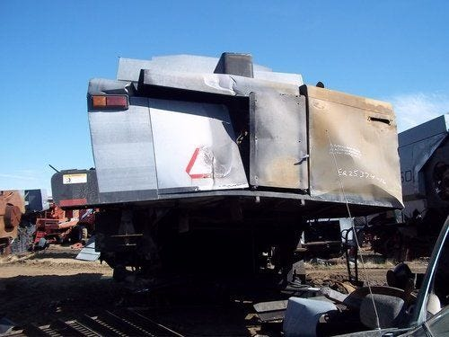 Used Gleaner R62 Combine Parts