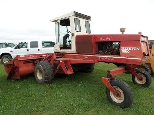 Used Hesston 6610 Hay Cutting Parts
