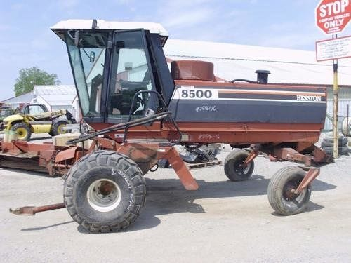 Used Hesston 8500 Hay Cutting Parts