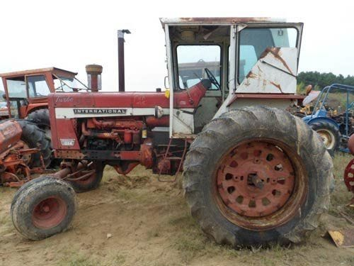 Used International 1256 Tractor Parts