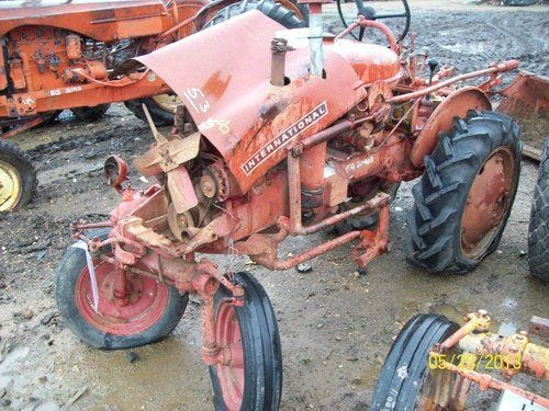 Used International 140 Tractor Parts
