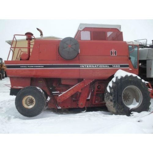 Used International 1480 Combine Parts